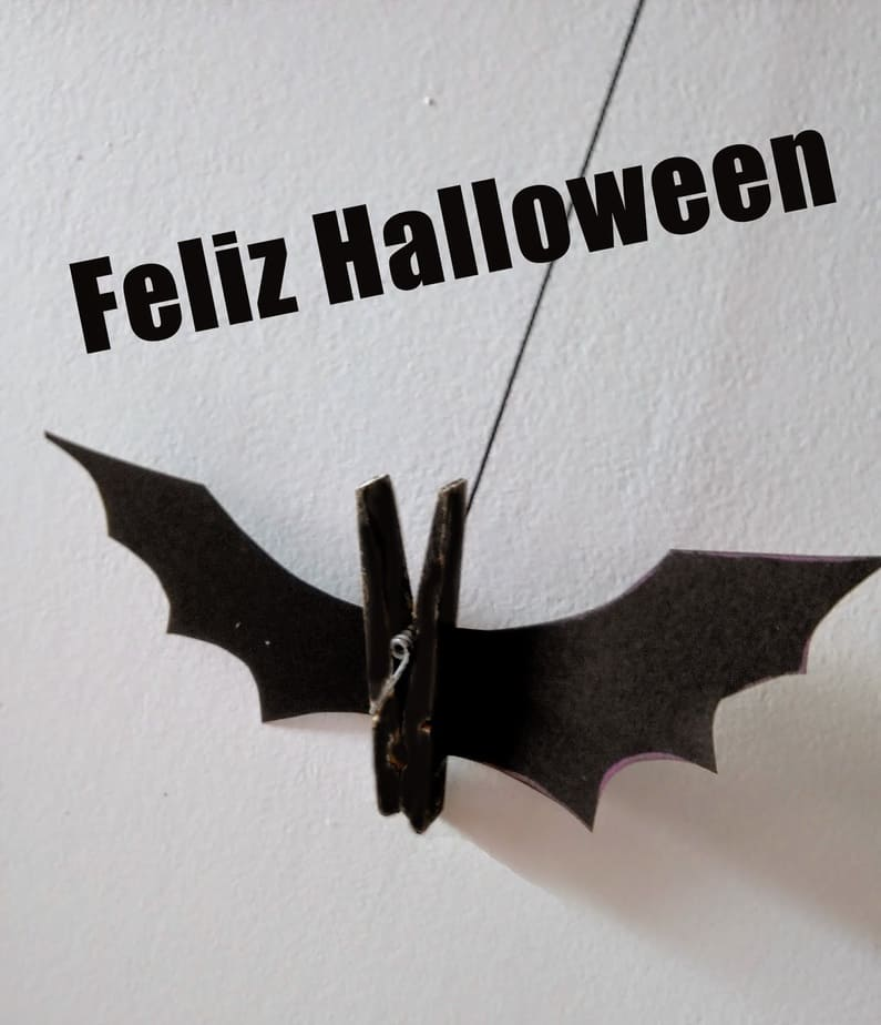 Morcegos para o Halloween –  buuuhh, que susto!