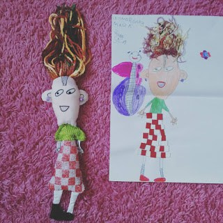 Transformar o desenho infantil de bonecos 3D