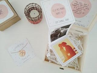Caixa de Memórias, com várias fotografias dos melhores momentos