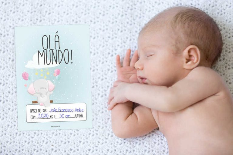 Cartões do Bebé Milestones CutxiCutxi