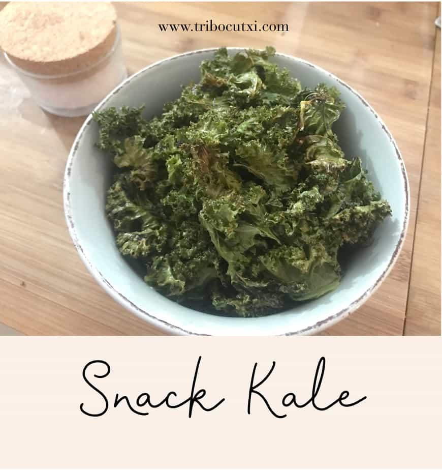 Um delicioso Snack Kale