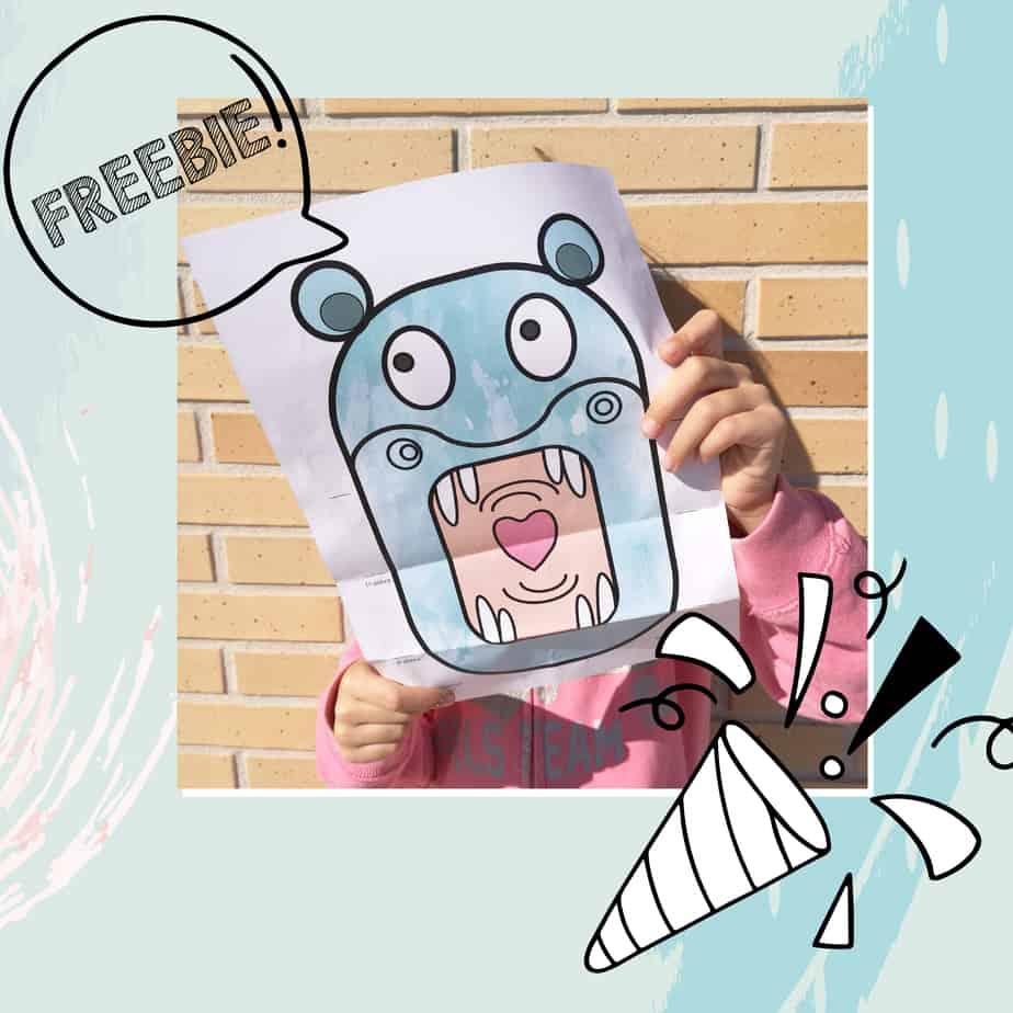 Freebie Hipo Desenho interativo