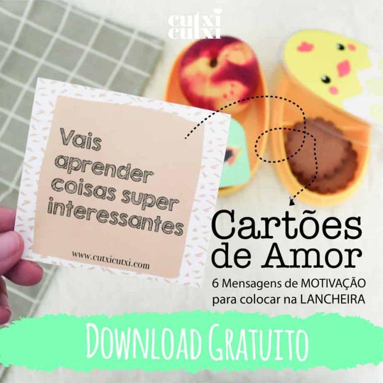 Cartões de Amor – Freebie