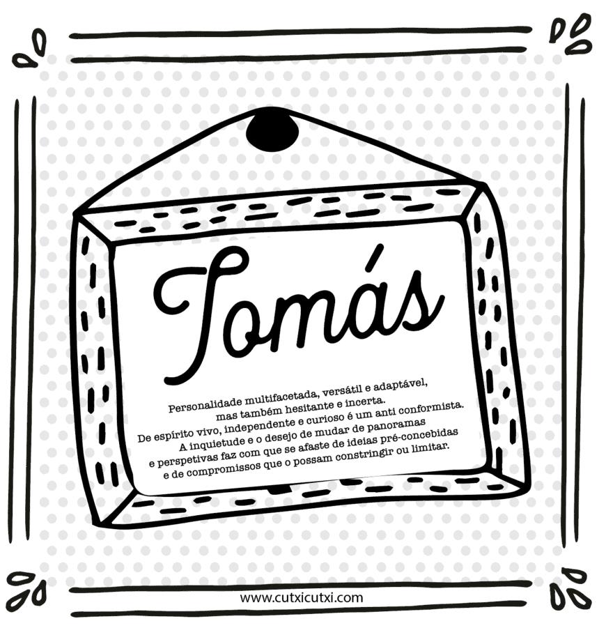 Significado nome Tomás