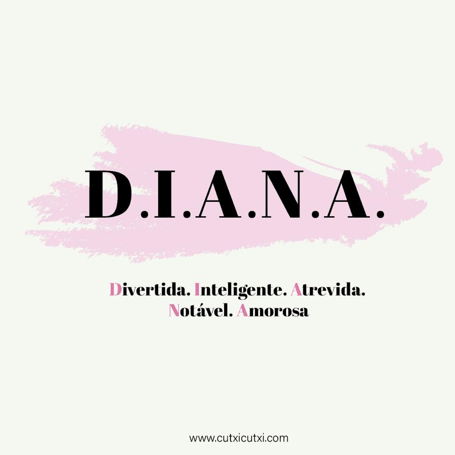 D.I.A.N.A – significado