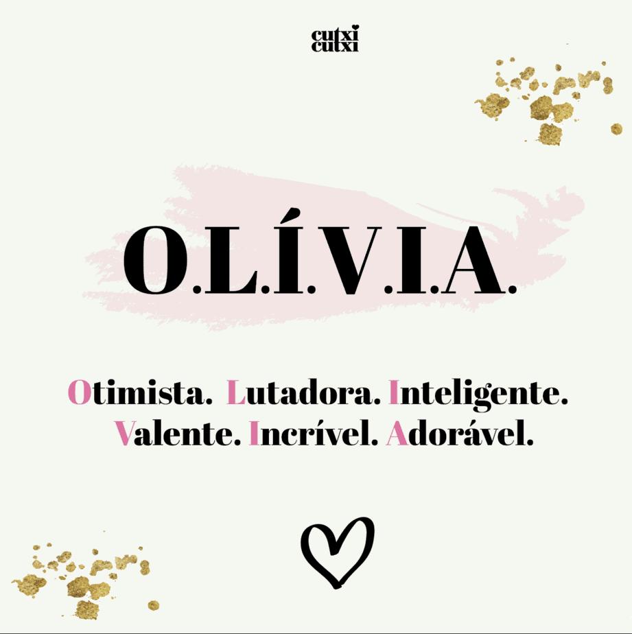 OLÍVIA – significado do nome